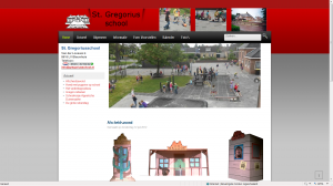 nieuwe St. Gregoriusschool website